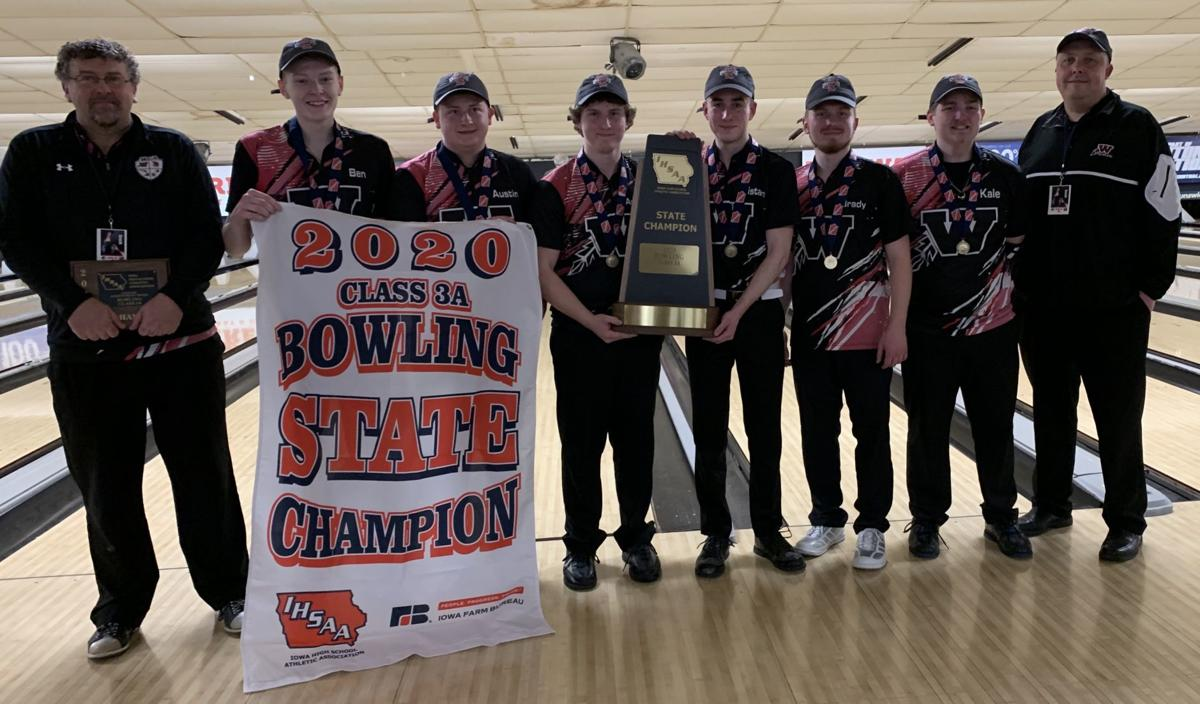 Waterloo West bowling team