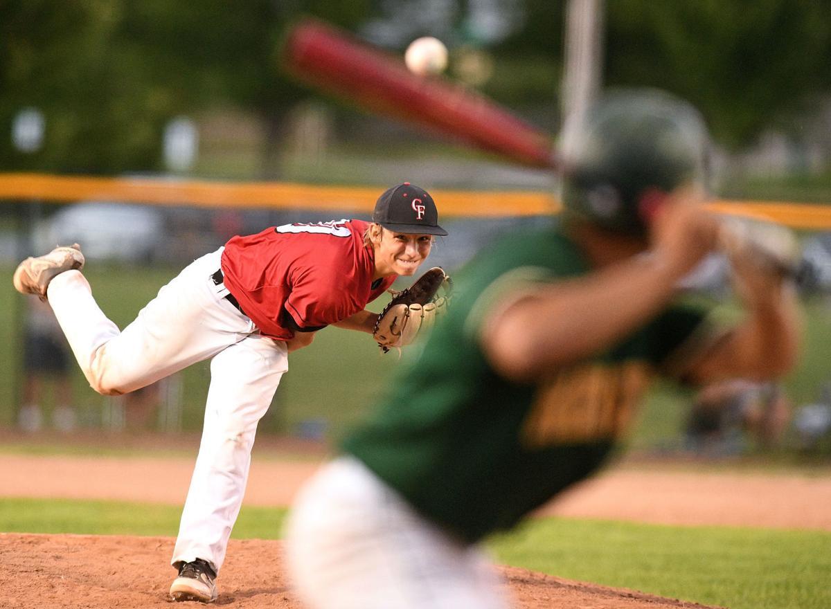 Prep baseball Cedar Falls at CR Kennedy 4