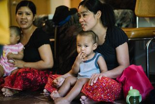 Burmese refugees facing child care barriers