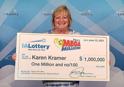 Karen Kramer lottery winner