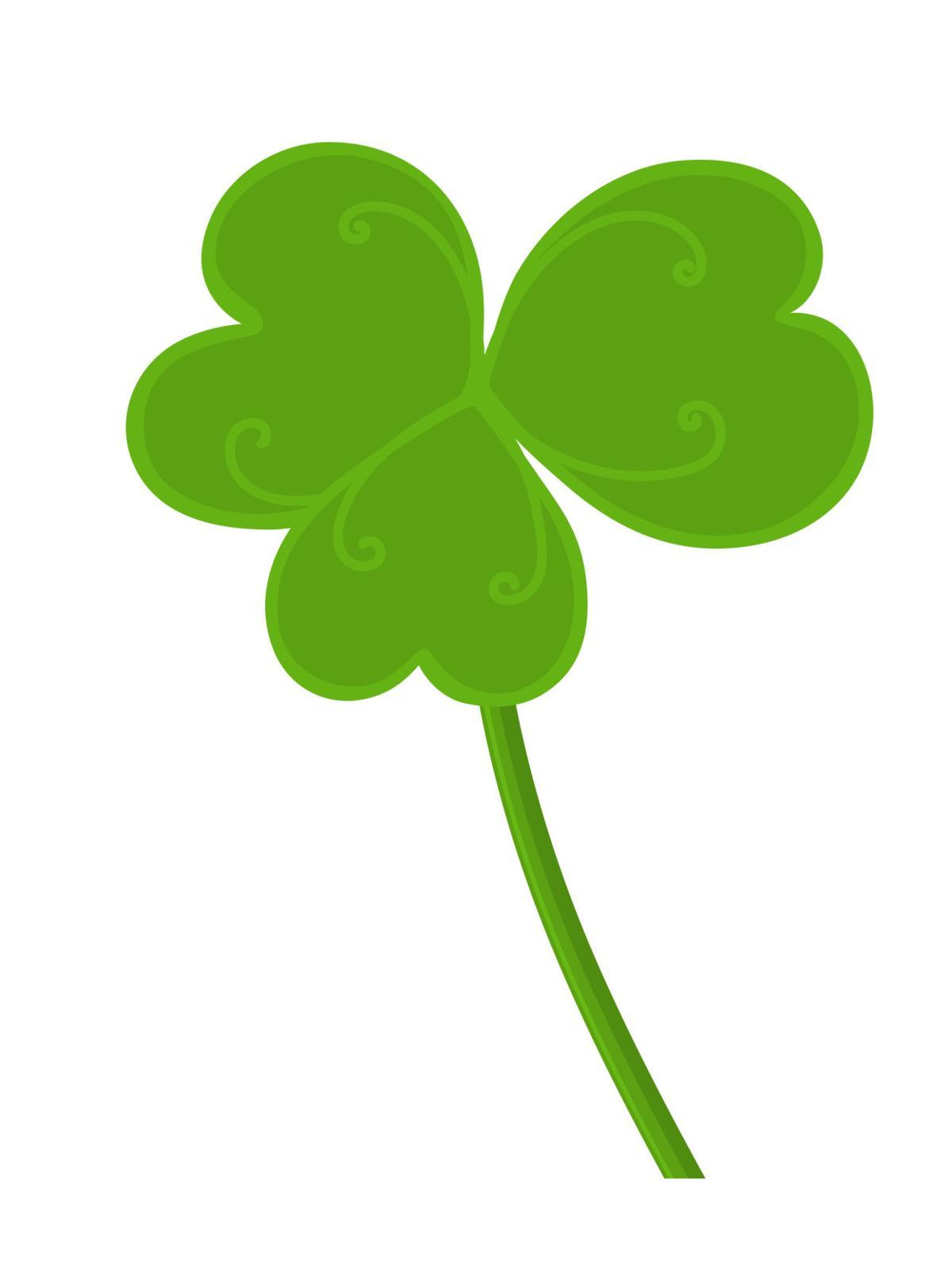St. Patrick's Day shamrock.