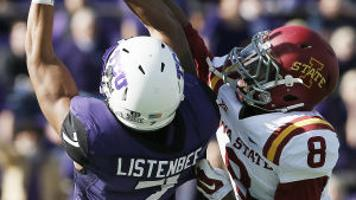 buy popular 4d654 2408f 4 TCU wipes out Iowa State, 55-3   Iowa State Cyclones   wcfcourier.com