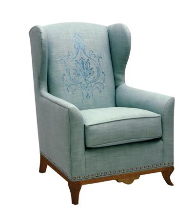 Modern Clic Wing Chair From Candice Olson