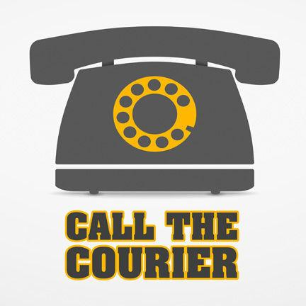 Call the Courier logo