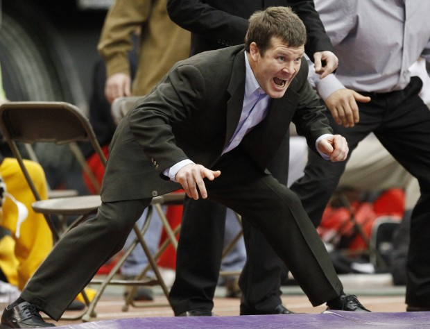 154ef06b02e College wrestling: Brands put his label on Iowa program   Iowa ...