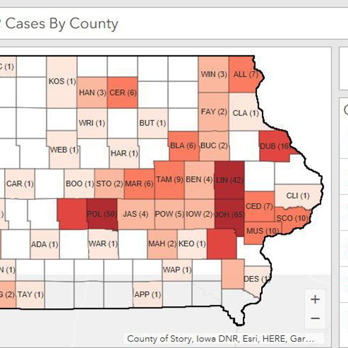 Update Coronavirus Peak Expected In Iowa In 2 3 Weeks Public