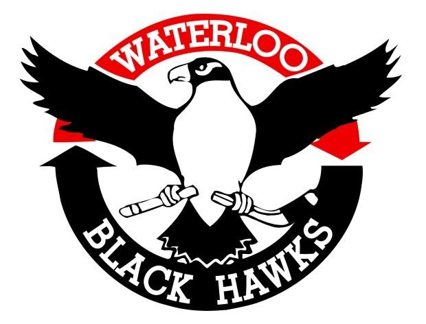 clip art Black Hawks hockey logo