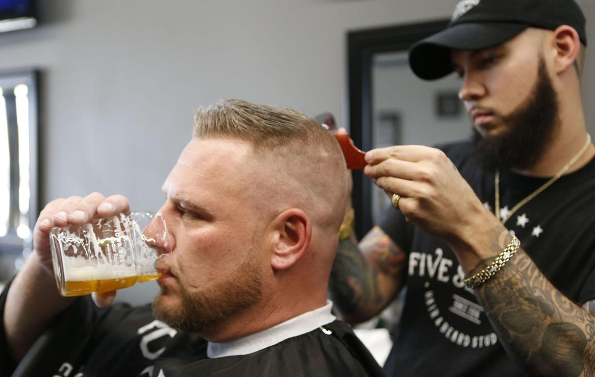 Hair salons and alcohol