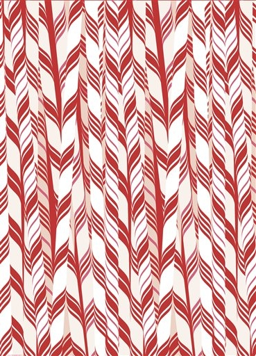candy cane wrapping paper from paper source