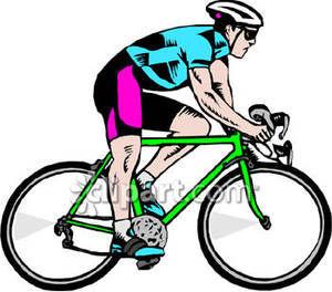 Cycling clip art