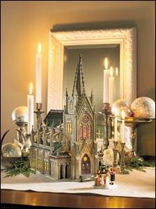 dept 56 collectors celebrate by creating christmas villages