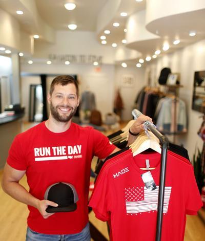 Parkersburg man starts athletic clothing line for goal