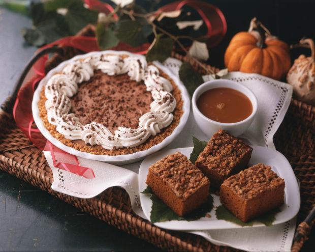 capuccinio chocolate pie