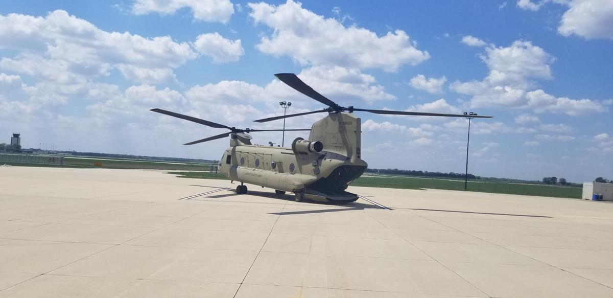 CS-47 helicopter, Iowa National Guard