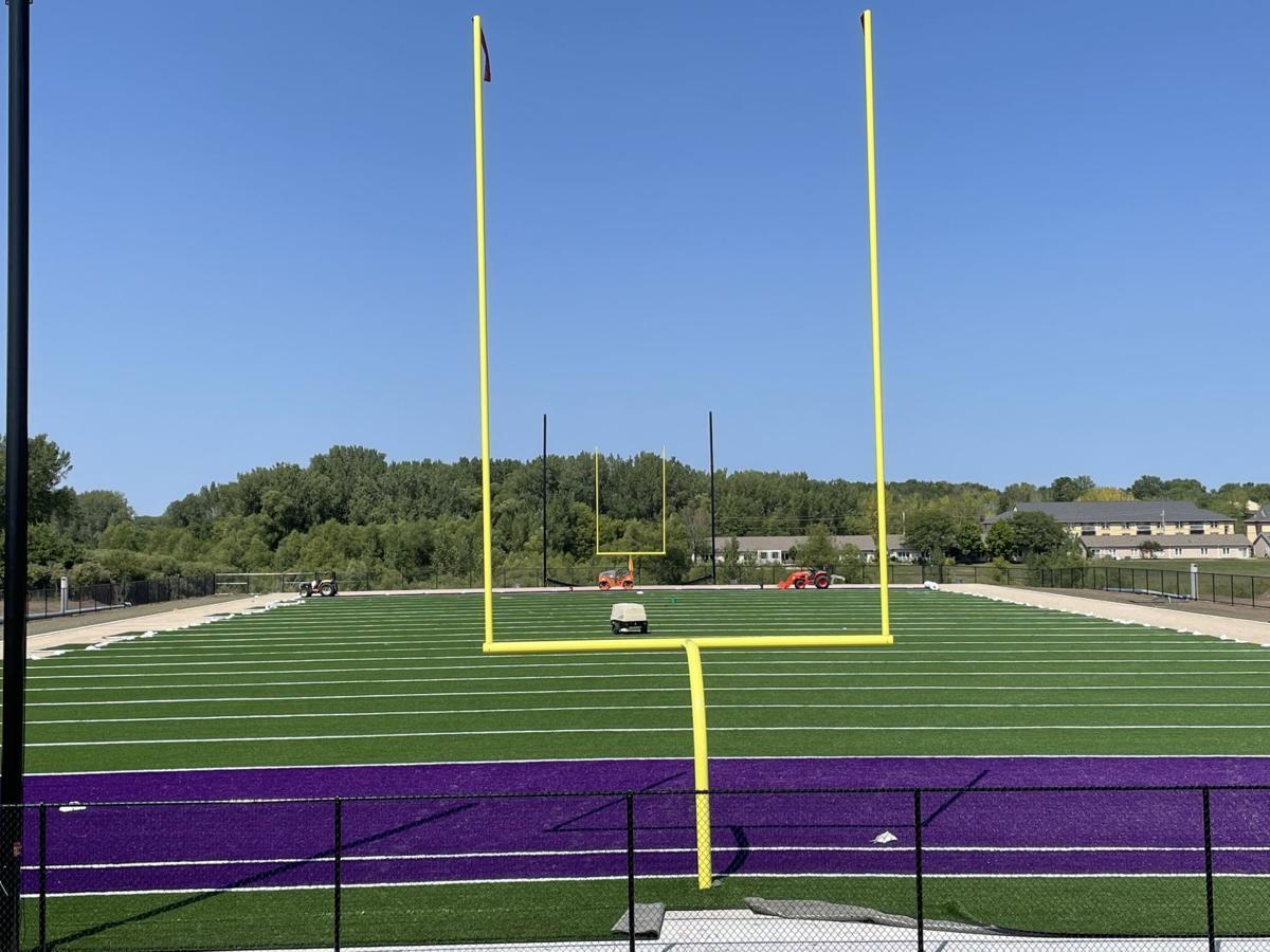 New UNI football practice turf