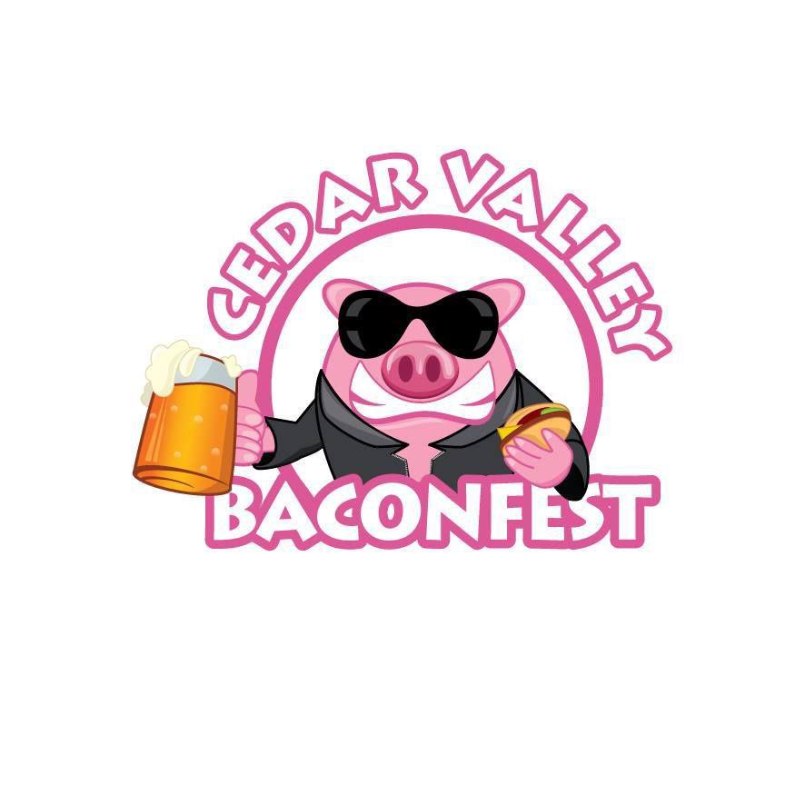 Cedar Valley Baconfest logo