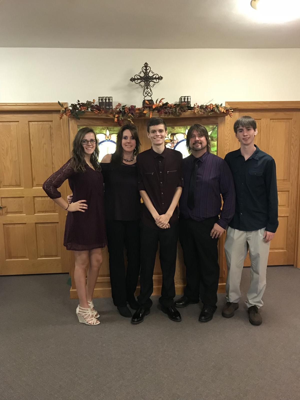 Tristin Laue family