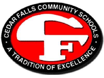 Cedar Falls Schools academic logo NEW
