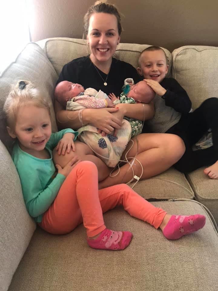 Dysart 'miracle' twins, born 18 weeks premature, making