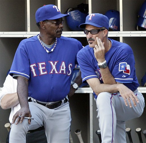 Image result for ron washington mike maddux