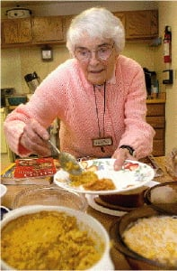 94-year-old vegeterian attributes health to life-style