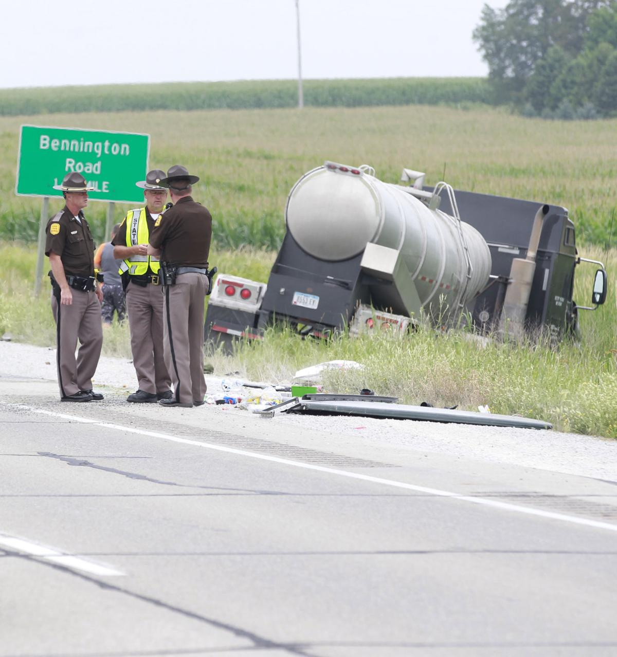 UPDATE WITH NAMES: 1 hurt in Highway 63 crash   Local News