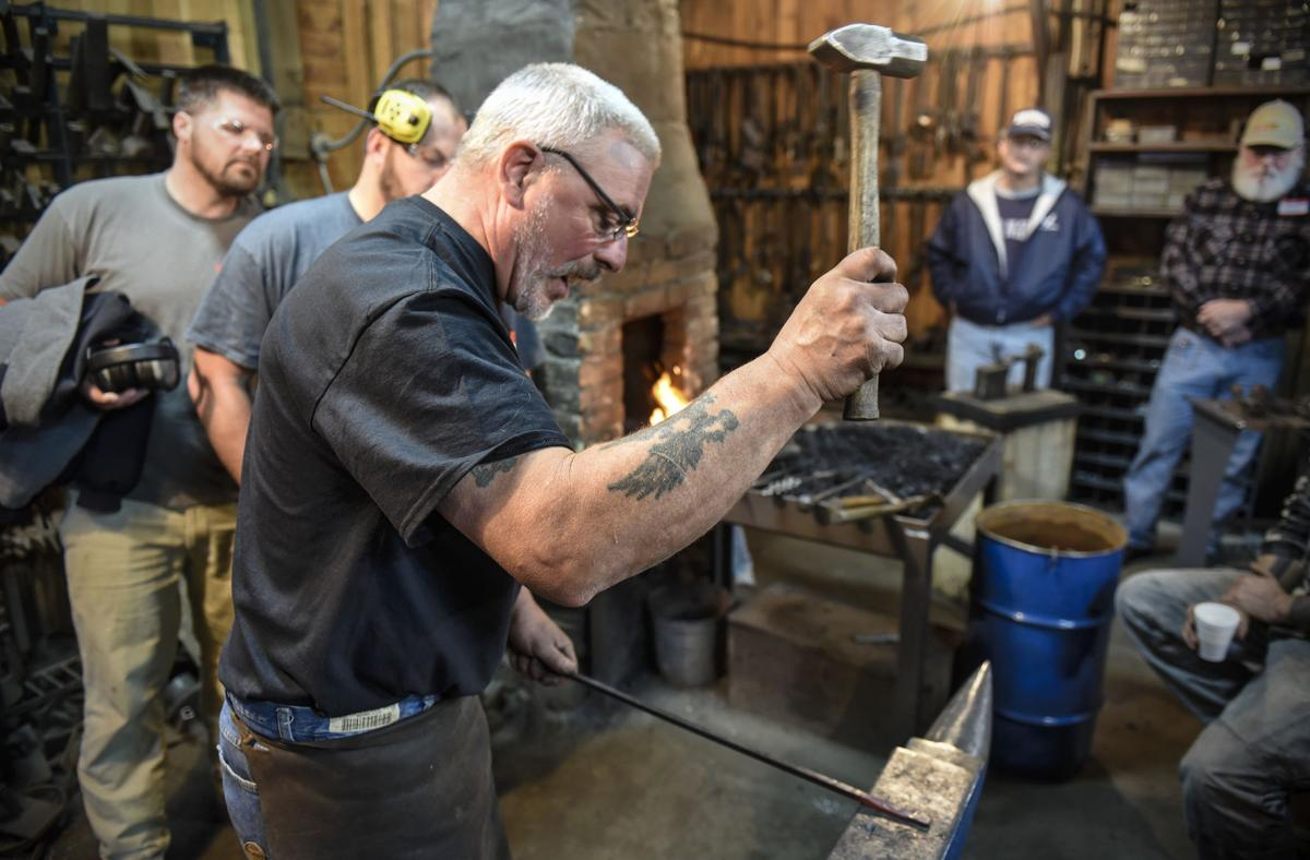 Exchange Blacksmithing For Veterans