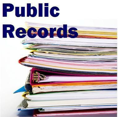 Public records clip art