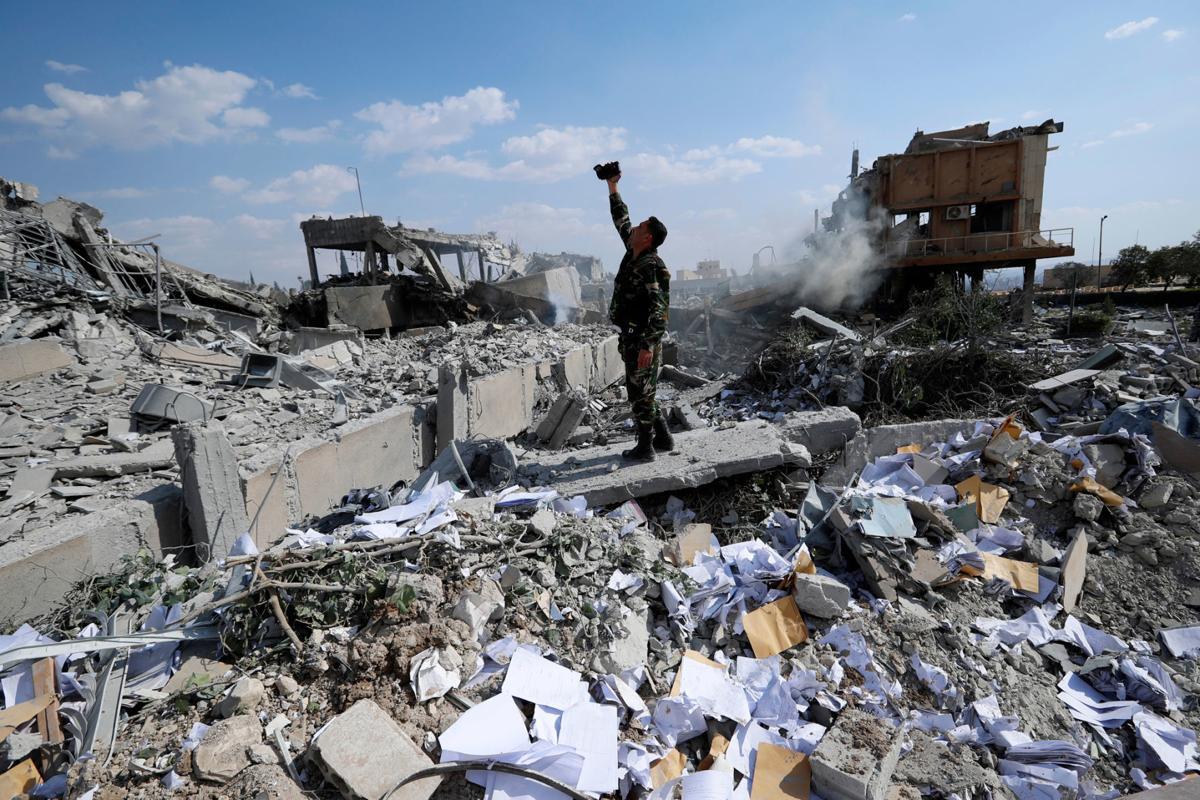 Syria Missile Shot