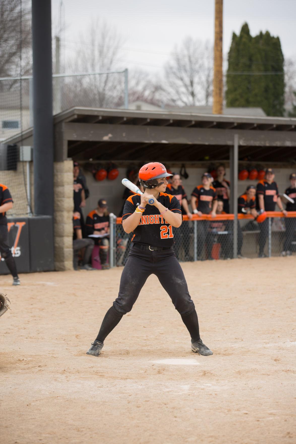 Mara Forsyth batting 1