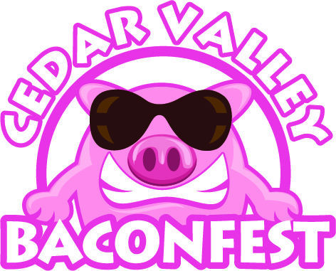 Cedar Valley Baconfest logo