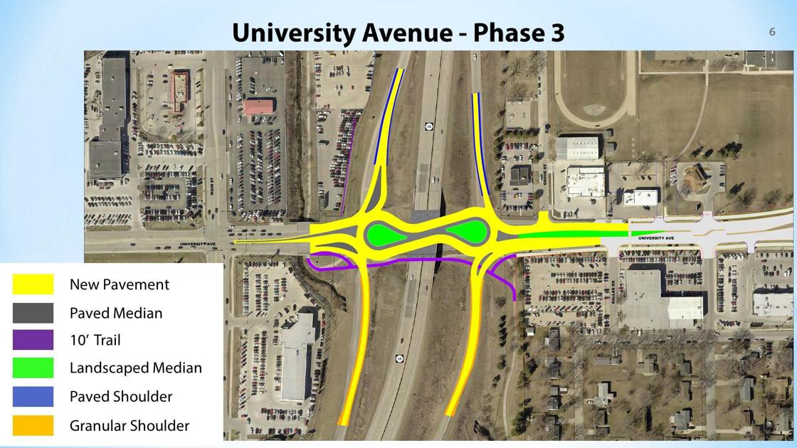 Final Phase Of University Avenue Work Coming In Cedar Falls Local