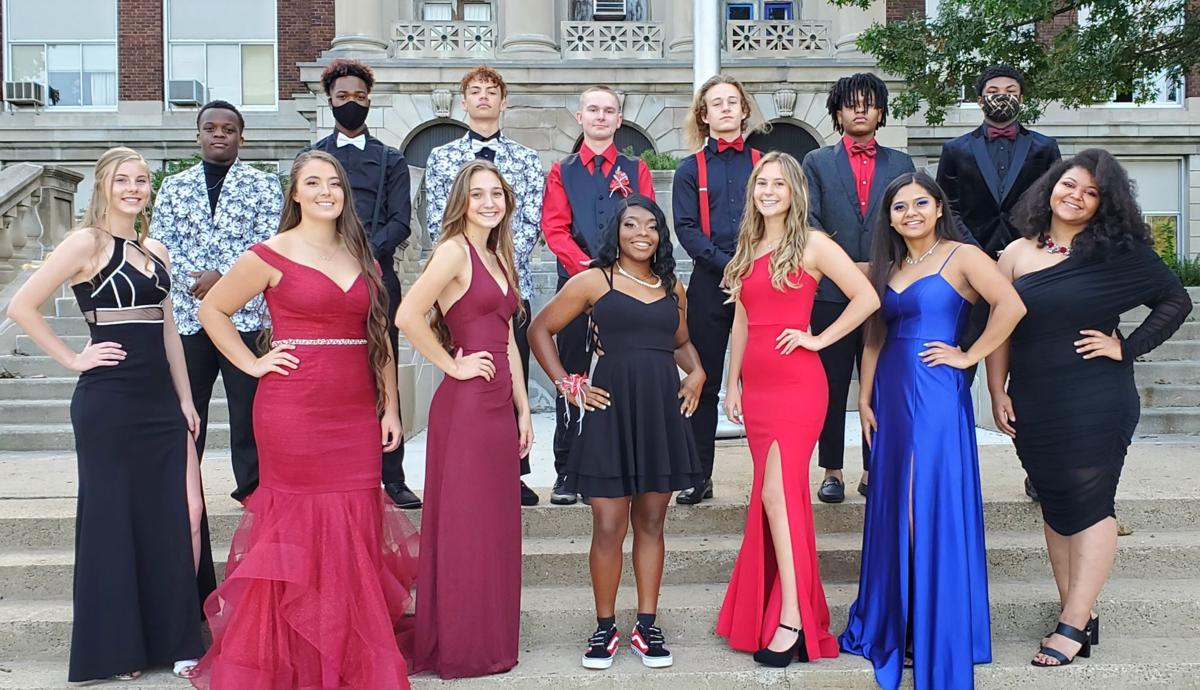 East High homecoming court