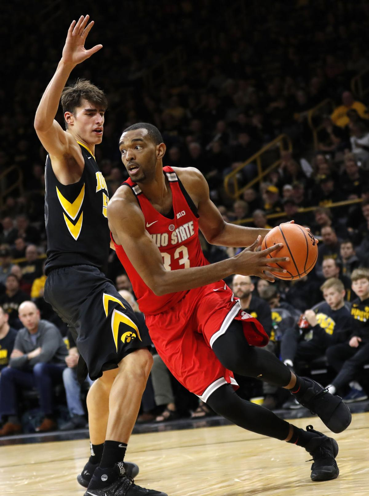 Ohio St Iowa Basketball 1