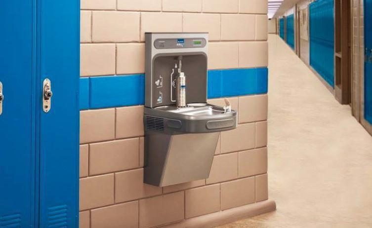 Elkay water bottle filling station