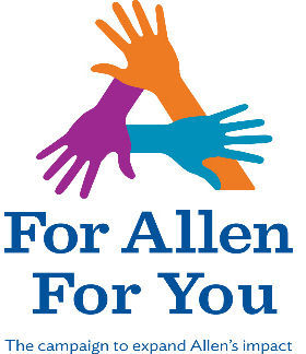 For Allen For You campaign logo