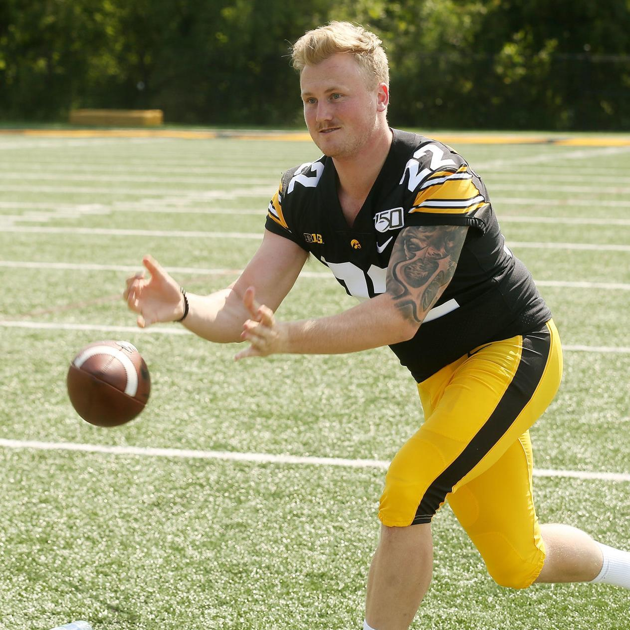 Iowa football: Kickers excel in Hawkeye scrimmage | Football