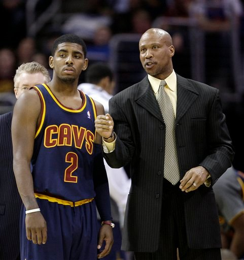 Image result for kyrie irving and byron scott