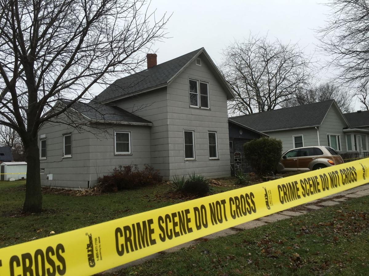Hampton murder scene