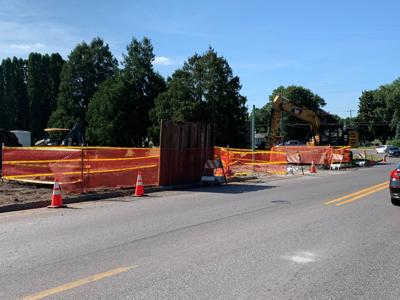 Hammond Ave. natural gas leak