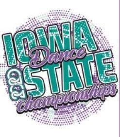Iowa State Dance Championships logo