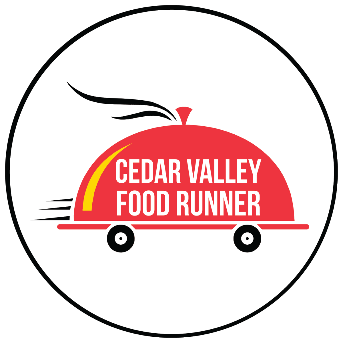 Cedar Valley Food Runner logo