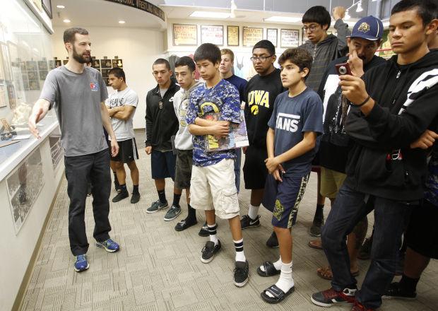 Iowa Native Expanding His California Students Horizons Half