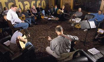 Will the circle be unbroken: Guitar group prepares for spring concert
