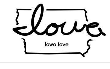 Iowa Love design