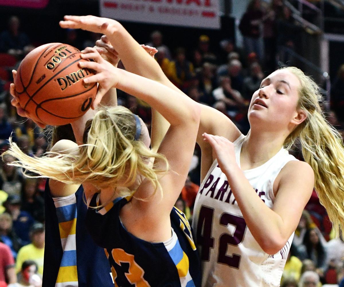 Grundy Center vs Cascade girls state basketball