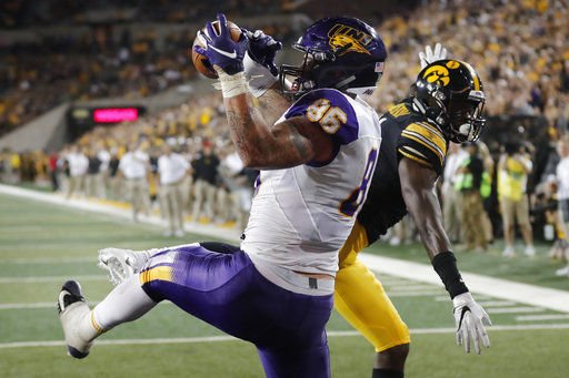 Iowa moves to 3-0 with 38-14 win over Northern Iowa