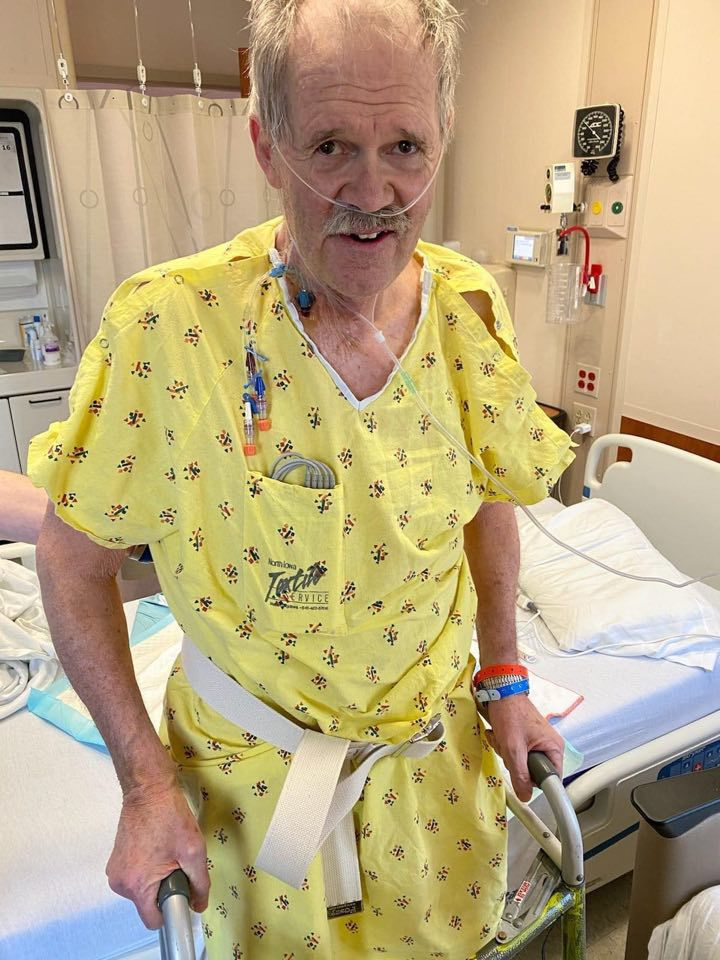 Val Swinton recovering at MercyOne