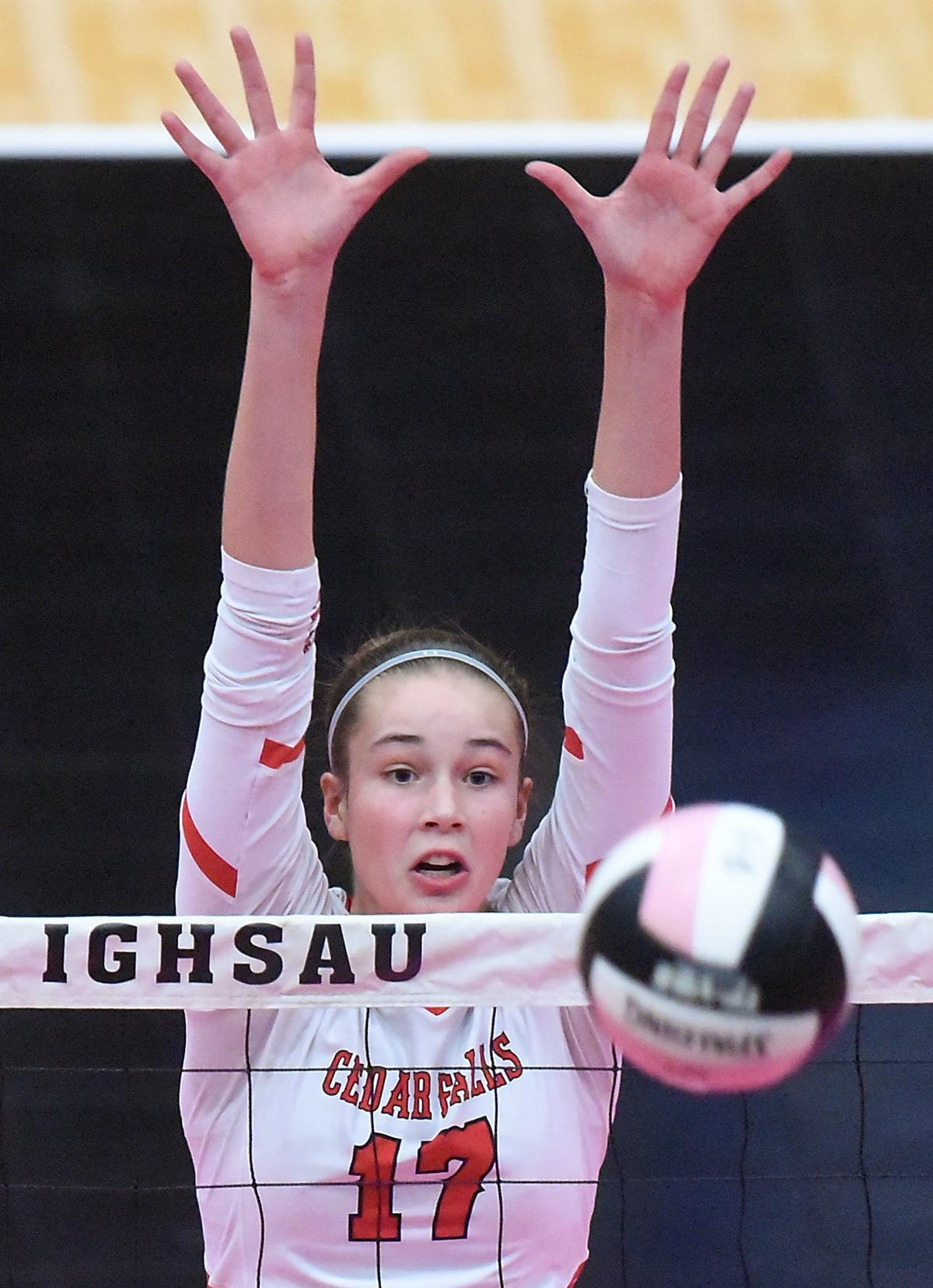 Iowa State Volleyball Cedar Falls vs. Linn-Mar
