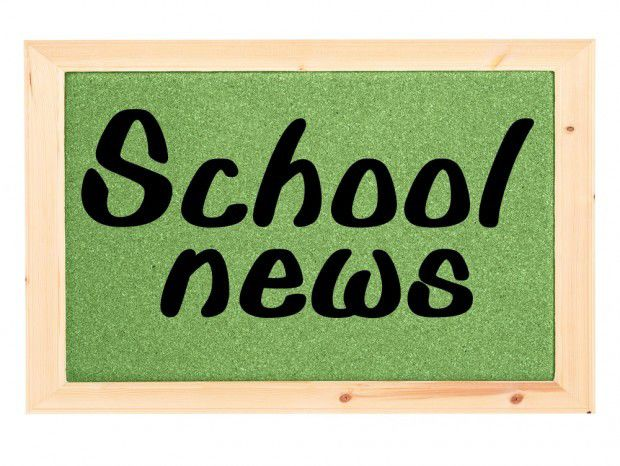 clip art school news logo